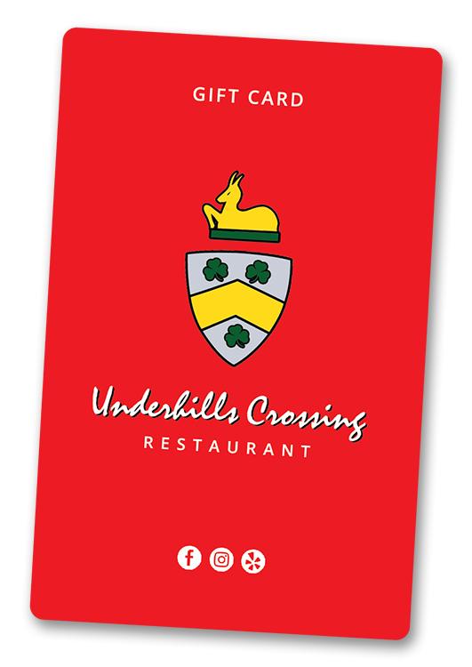 Underhills Crossing Gift Card